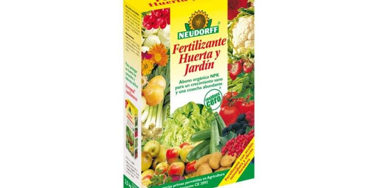 imagen fertilizante Huerta y Jardín Neudorff 2 5 kg