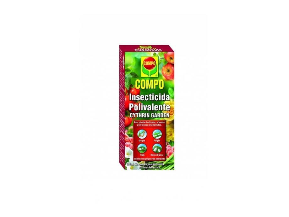 imagen insecticida polivalente 100 ml compo cythrin garden