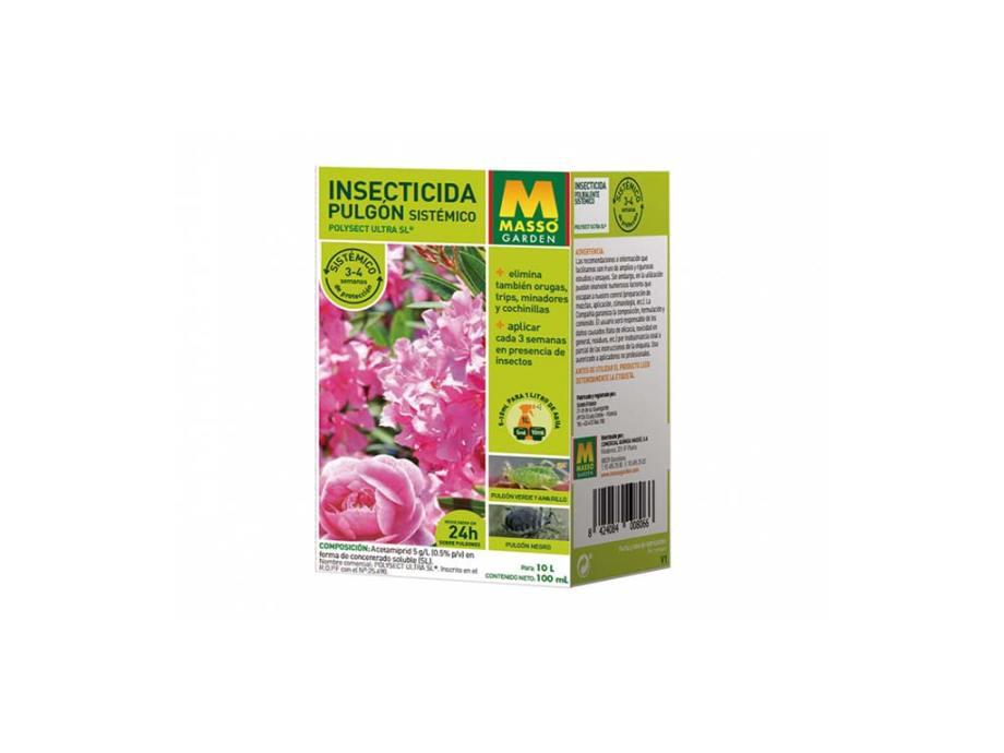 Imagen insecticida pulgón sistémico 100 ml Massó Garden
