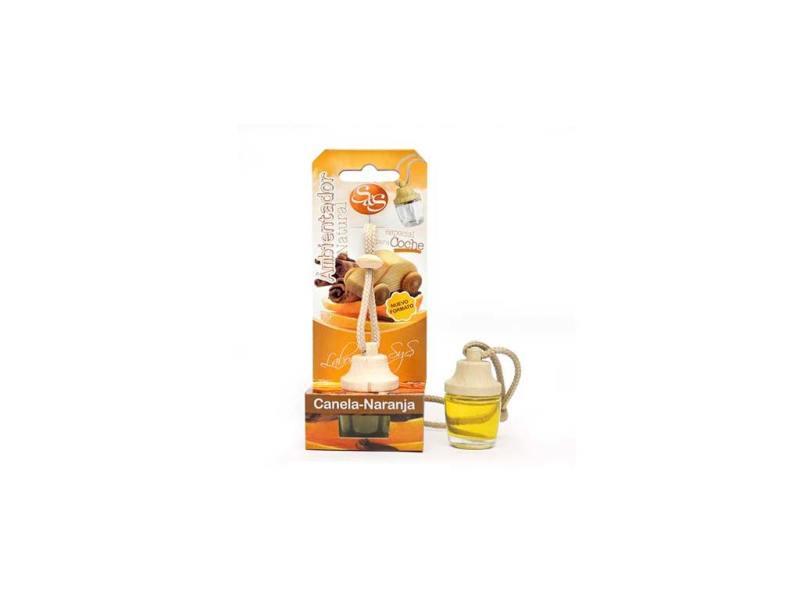 Ambientador Coche Canela-Naranja 7ml SyS