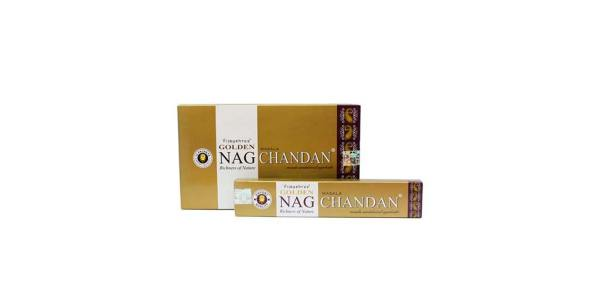 Incienso Nag Champa Golden Chandan 15 g SyS