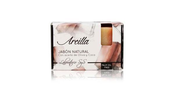 Jabón Natural Premium Arcilla 100g SyS