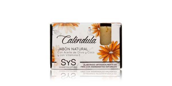 Jabón Natural Premium Calendula 100g SyS