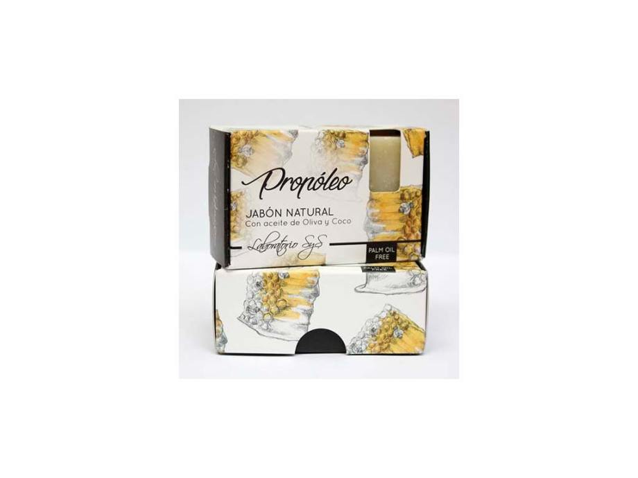 Jabón Natural Premium Propoleo 100g SyS