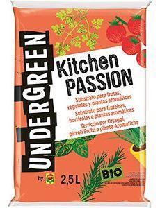 Kitchen Passión Sustrato 2,5L Undergreen
