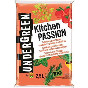 Kitchen Passión Sustrato 2,5L Undergreen