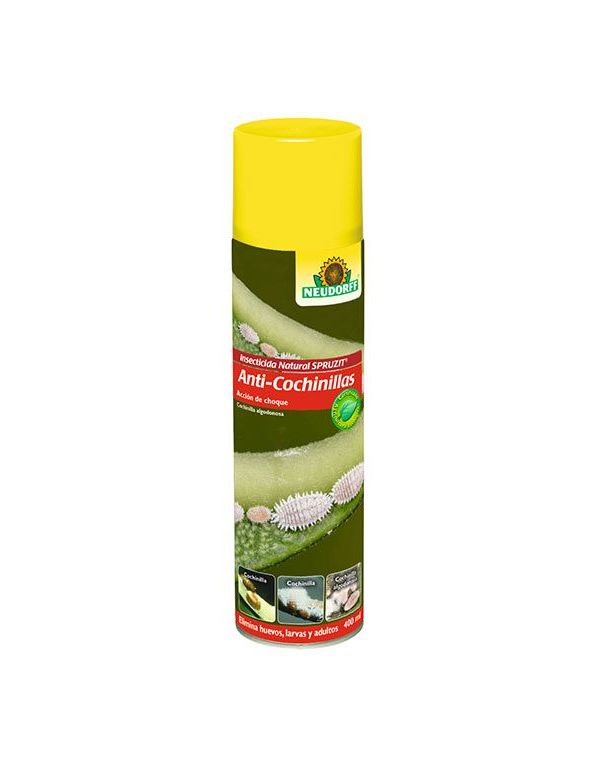Anti-Cochinillas insecticida Spruzit laca 400 ml Neudorff