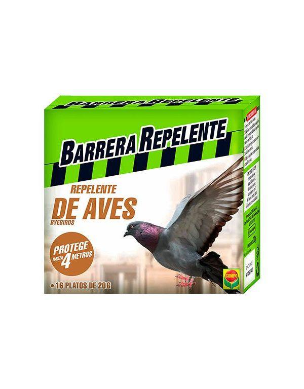Barrera Repelente de Aves 16 platos Compo