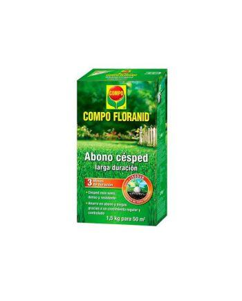 Floranid Abono Césped larga duración 1,5 kg Compo