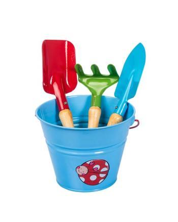 Set Herramientas y Balde Azul Kids Garden Stocker