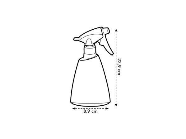 brussels sprayer 0,7 L anthracite elho