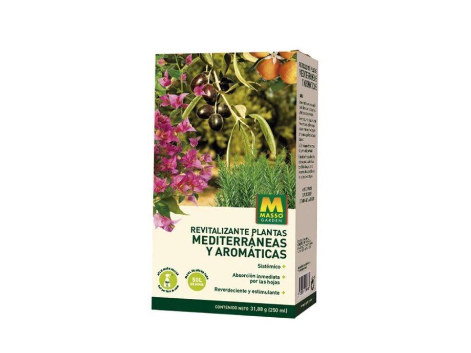 revitalizante mediterráneas y aromáticas 250 ml massó