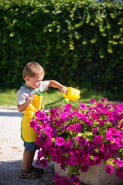Regadera Amarilla Kids Garden Stocker