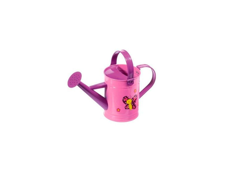 Regadera Metal Rosa Kids Garden Stocker