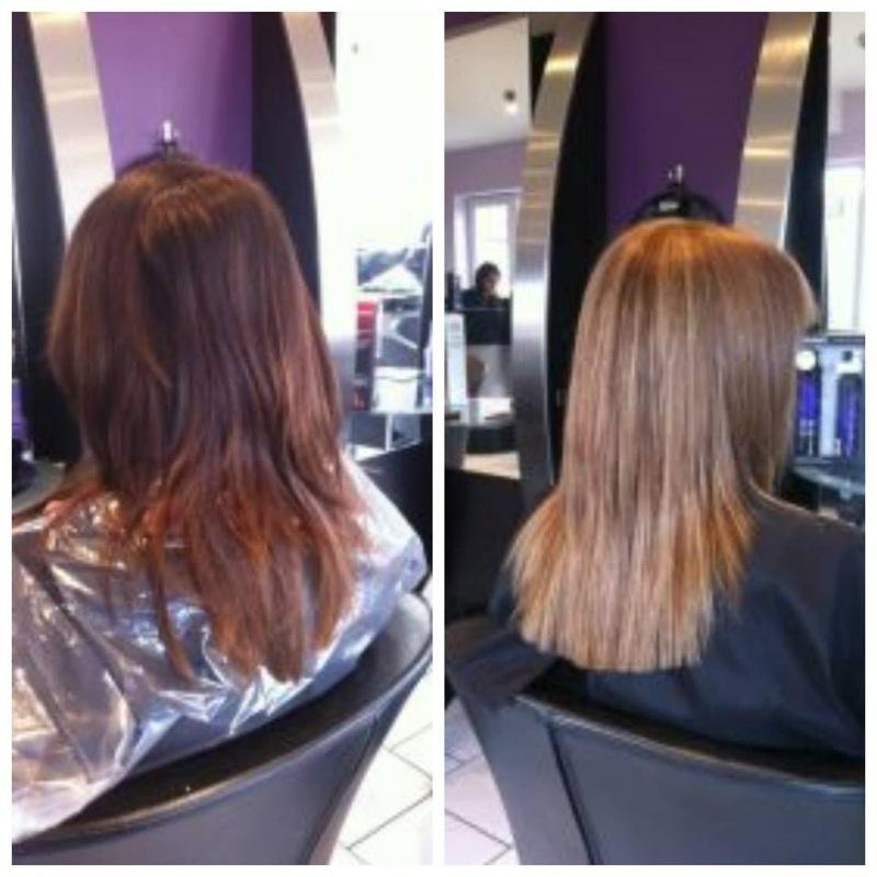 Blonde Hair Purple Underneath