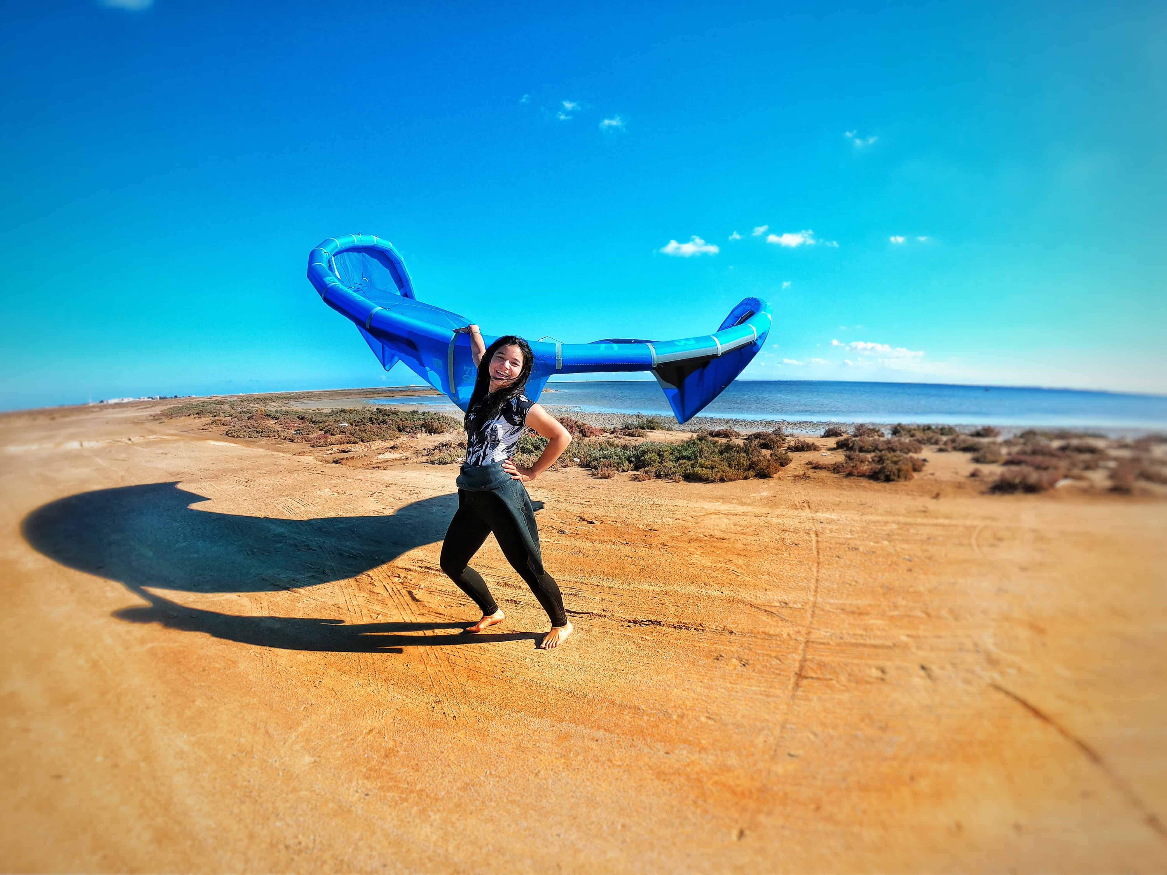 Lerne kiten auf Djerba