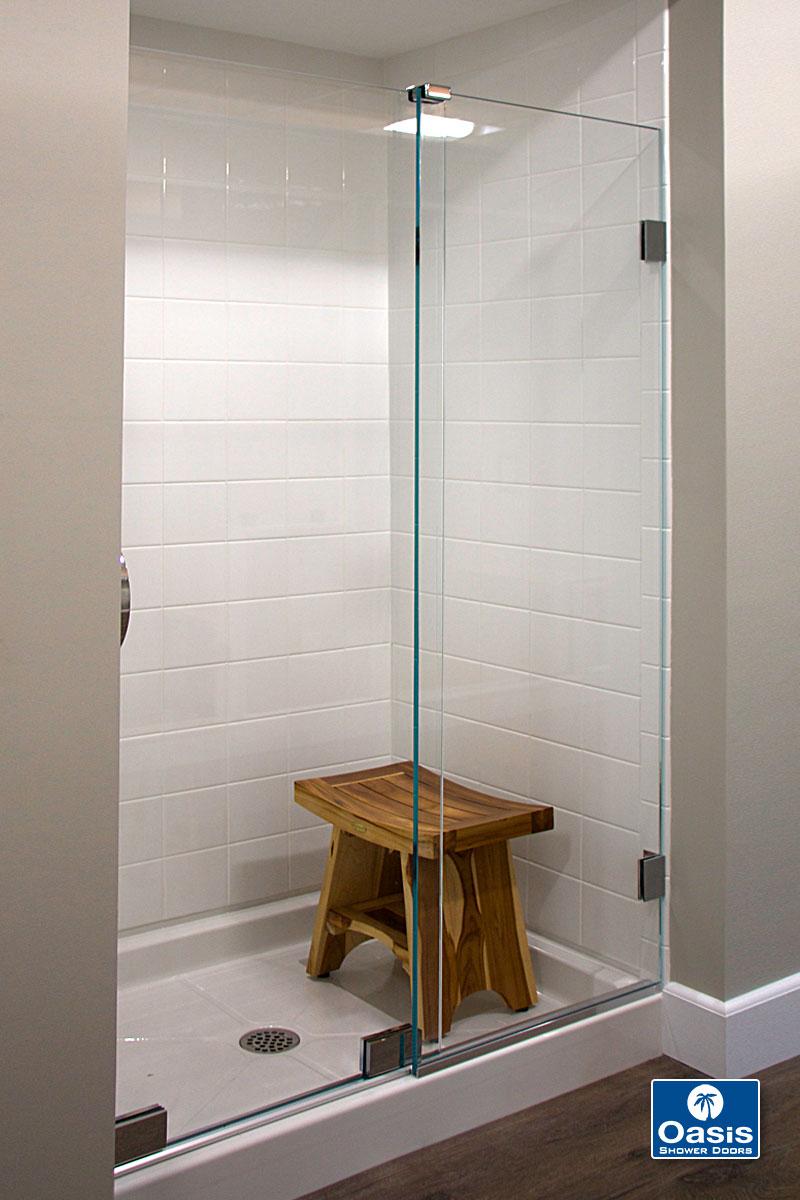 Frameless By Pass Sliding Shower Doors Oasis Shower Doors Boston Ma