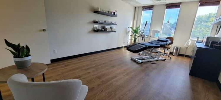 Oasis Skin Studio Treatment Room