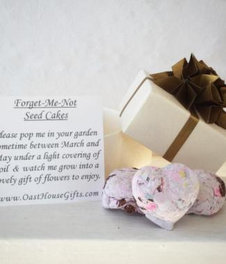 Wedding-Favours-Wild-Flower-Forget-Me-Not-Seed-Cakes-Handmade-Origami-Box-Oast-House-Gifts