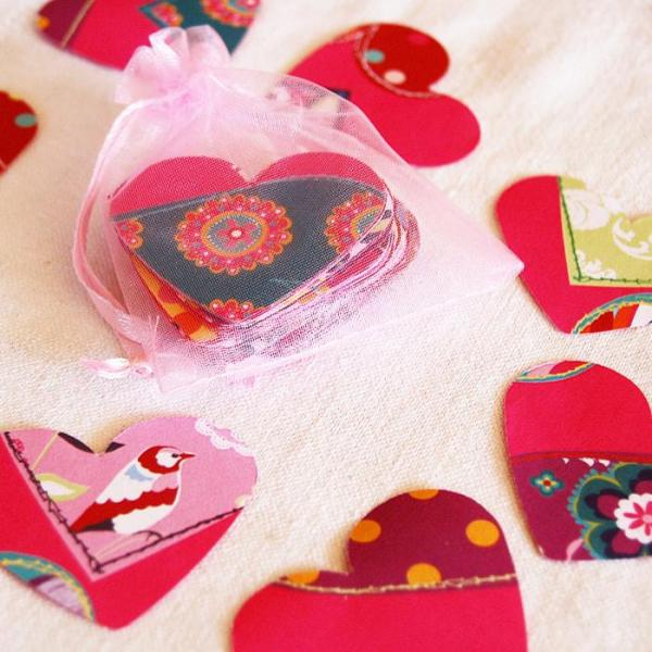 Wedding-Party-Table-Scatters-Paper-Confetti-Hand-Stamped-Hearts-Gift-Wrap-2-Oast-House-Gifts