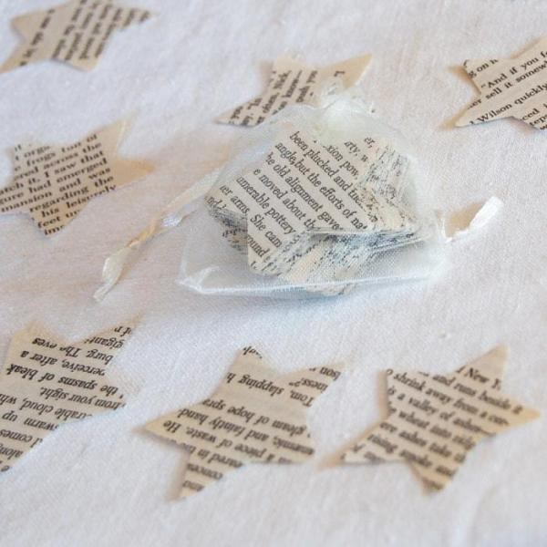 Wedding-Party-Table-Scatters-Paper-Confetti-Hand-Stamped-Stars-Bookpages-Oast-House-Gifts