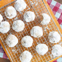 Maple Pecan Tea Cookies