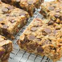 Sweet Potato Chocolate Chip Bars | GF + V