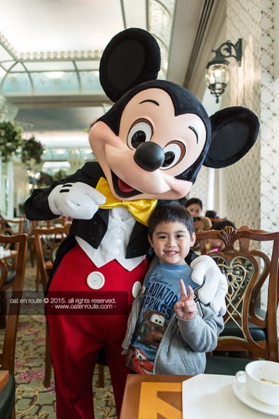"Breakfast with Disney Characters at ""Enchanted Garden Restaurant"""