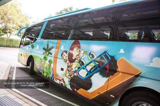 Shuttle Bus to HK Disneyland