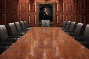 Getting a seat at the leadership table