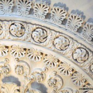 Ceiling Medallion Detail