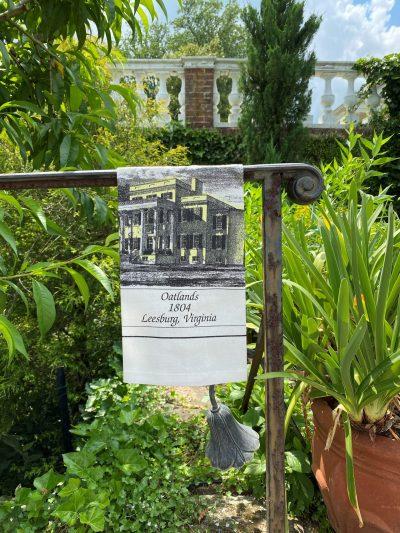 Oatlands Mansion Tea Towel