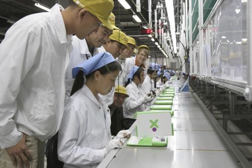 Mass Production Starts on OLPC XO Laptop