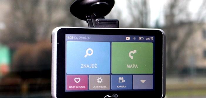 Mio MiVue Drive 55 LM – nawigacja, rejestrator i jeszcze więcej | TEST