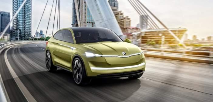 Auto Shanghai 2017: światowa premiera pierwszego w pełni elektrycznego samochodu ŠKODY