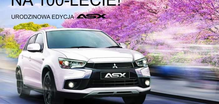 Mitsubishi ASX na 100-lecie marki i wiosenne promocje