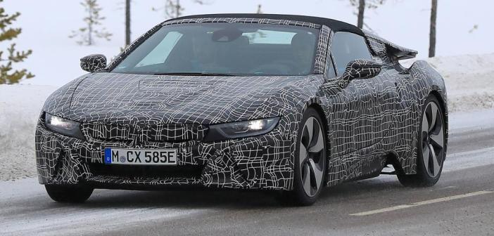 Zobaczcie jak wyglądają testy najnowszego BMW i8  Roadster