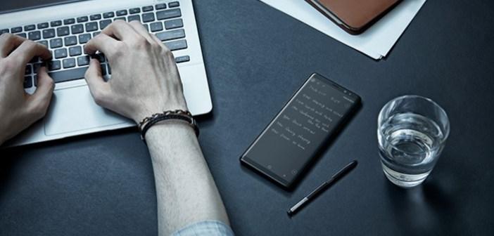 Pióro dla biznesmena: S Pen w Galaxy Note8