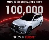 100 000 Outlanderów PHEV W Europie.