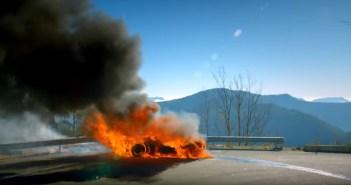 VIDEO | Alpine A110 w płomieniach w Top Gear podczas Rajdu Monte Carlo