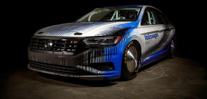 Nowy Volkswagen Jetta podejmie próbę ustanowienia rekordu prędkości na słonym jeziorze Bonneville w USA