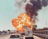 Potężna eksplozja cysterny przewożącej płynny gaz. Są zabici i ranni.