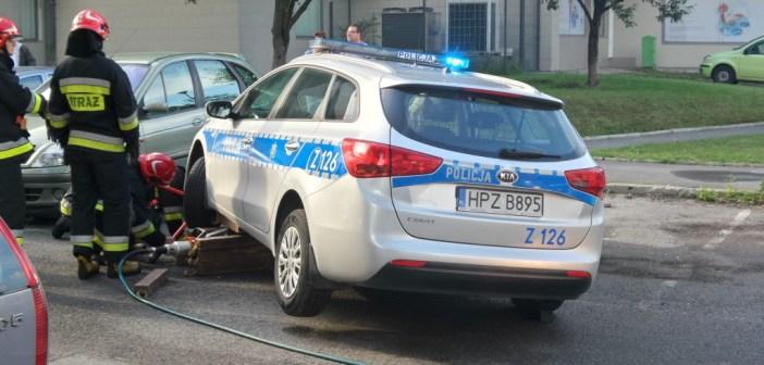 Samochody policyjne pójdą na złom.