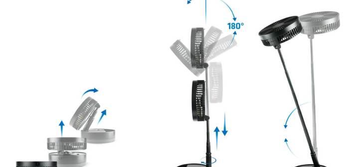 Przenośny wentylator AERO PRO – nowość od Xblitz
