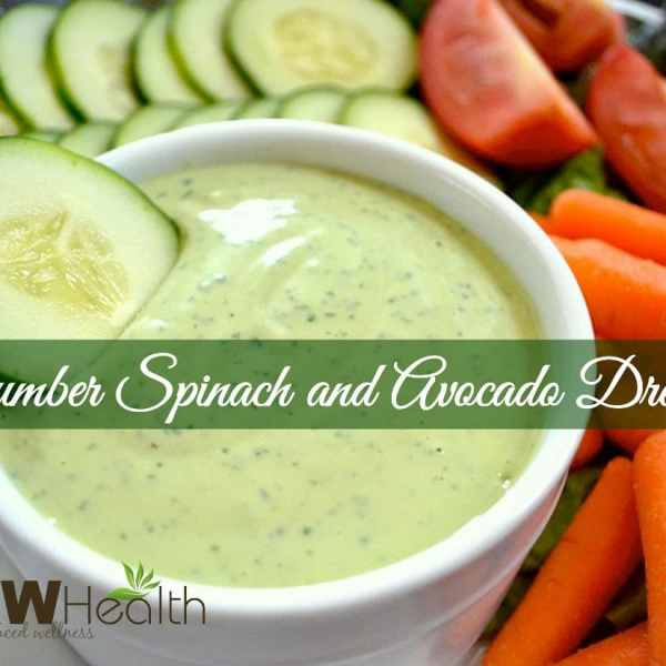 Cucumber Spinach and Avocado Salad Dressing