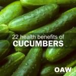 health benefits of cucumbers blog