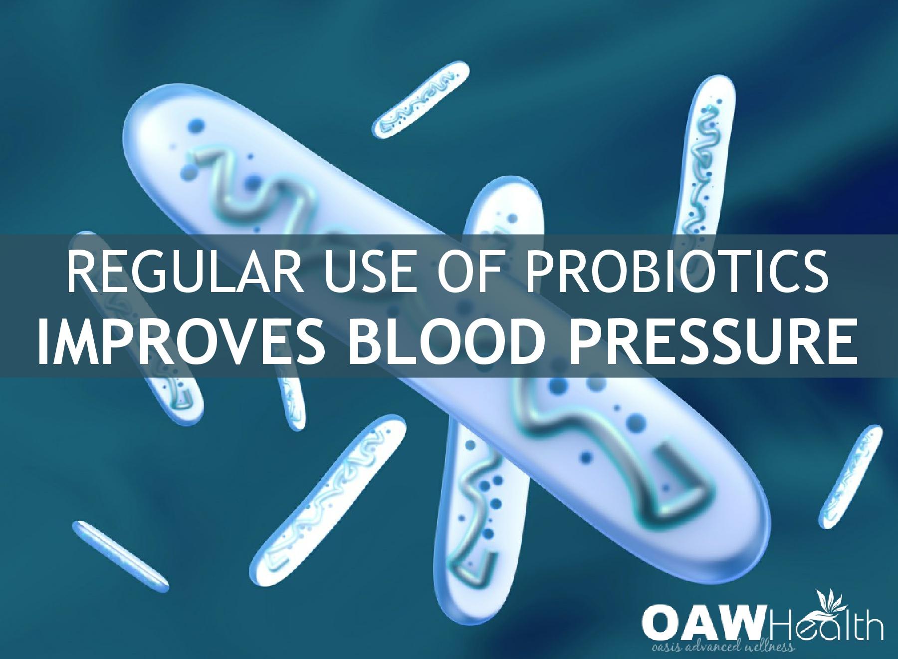 Regular Use of Probiotics Improves Blood Pressure