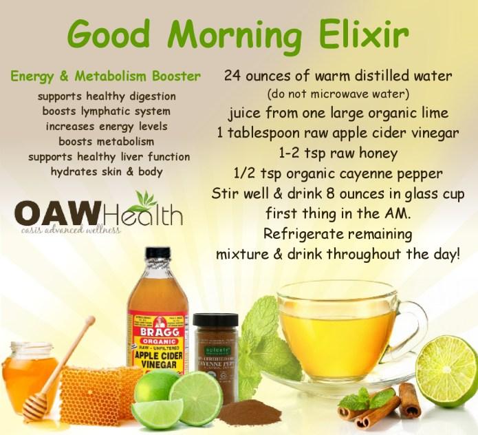 Good Morning Elixir Flush and Metabolism Booster with Apple Cider Vinegar