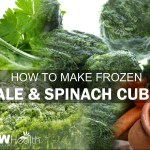 frozen kale and spinach