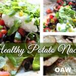healthy potato nachos